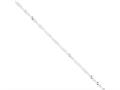16 Inch Sterling Silver 2.25mm Singapore Chain