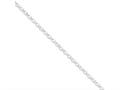 16 Inch Sterling Silver 4.0mm Rolo Chain