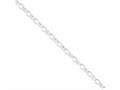 16 Inch Sterling Silver 5mm Rolo Chain