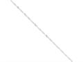 16 Inch Sterling Silver 2mm Singapore Chain