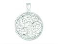 Sterling Silver Reversible Locket