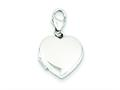 Sterling Silver 15mm Heart Locket