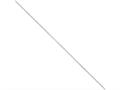 16 Inch Sterling Silver 1.2mm bright-cut Snake Chain