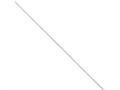 16 Inch Sterling Silver 1.5mm Diamond-cut Flat Snake Chain