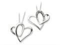 Sentimental Expressions(tm) Sterling Silver Mother A Part of My Heart 18 Inch Necklace