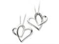Sentimental Expressions(tm) Sterling Silver Daughter A Part of My Heart 18 Inch Necklace