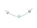 Sterling Silver 17.5in. Amethyst and Blue Topaz Necklace