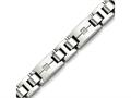 Chisel Stainless Steel Polished And Brushed Czs Bracelet