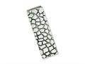 Chisel Stainless Steel Textured and Polished Money Clip