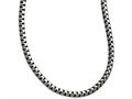 Chisel Stainless Steel Polished And Antiqued Fancy 5.50mm Chain