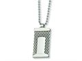 Chisel Stainless Steel Mesh Necklace - 24 inches