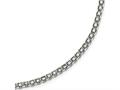 Chisel Stainless Steel Polished 3.10mm  Fancy Double Link Chain