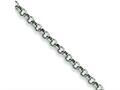 Chisel Stainless Steel 6mm Rolo Chain - 18 inches