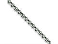 Chisel Stainless Steel 8mm Rolo Chain - 18 inches