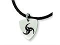 Chisel Stainless Steel Enameled Pendant Necklace - 18 inches