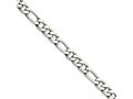 Chisel Stainless Steel 5.30mm 18in Figaro Chain