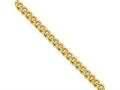 Chisel Stainless Steel Ip Gold-plated 4.0mm 22in Round Curb Chain