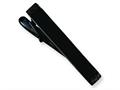 Chisel Stainless Steel Black-plated Tie Clip