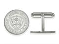 LogoArt Sterling Silver East Carolina University Crest Cuff Link