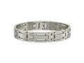 Chisel Titanium Polished Bracelet - 8.75 inches