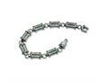 Chisel Titanium Brushed and Polished Bracelet - 9 inches