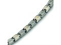 Chisel Titanium 14k Inlay Bracelet - 8.5 inches