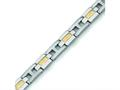 Chisel Titanium 24k Gold Plating Bracelet - 9 inches