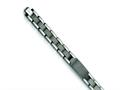 Chisel Tungsten Brushed and Polished ID Bracelet - 8.5 inches