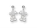 Disney Waving Mickey Dangle Post Earrings