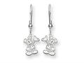 Disney Waving Mickey Dangle Wire Earrings