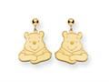 Disney Winnie the Pooh Dangle Post Earrings