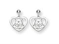 Disney Winnie the Pooh Heart Dangle Post