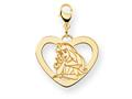 Disney Aurora Heart Lobster Clasp Charm
