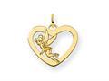 Disney Tinker Bell Heart Charm