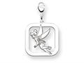 Disney Tinker Bell Square Lobster Clasp Ch