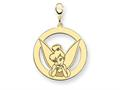Disney Tinker Bell Round Lobster Clasp Cha