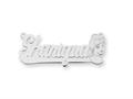 Personalized Disney Cinderella Nameplate (up to 9 Letters) - Chain Included