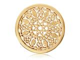 Nikki Lissoni Gold- Tone 33mm Indian Summer Coin style: C1120GM