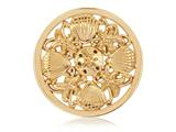 Nikki Lissoni Gold-tone 33mm Secrets Of The Sea Coin style: C1190GM