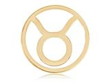 Nikki Lissoni Gold- Tone 33mm Taurus Coin style: C119204GM