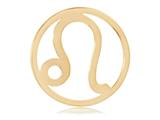 Nikki Lissoni Gold- Tone 33mm Leo Coin style: C119207GM