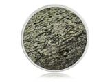 Nikki Lissoni Silver-tone 33mm Faceted Green Zebra Jasper Coin style: C1199SM