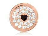Nikki Lissoni Rose-tone 23.6mm Clear Swarovski® Elements You Make My style: C1211RGS