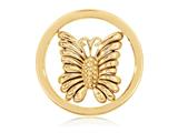 Nikki Lissoni Gold-tone 23.6mm Little Butterfly Coin style: C1243GS