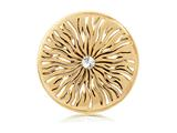 Nikki Lissoni Gold- Tone 43mm Wild Thing Coin style: C1244GL