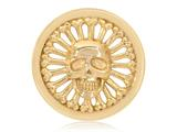 Nikki Lissoni Gold-tone 33mm Golden Skull Coin style: C1269GM