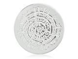 Nikki Lissoni Silver-tone 33mm Ancient Script For Good Luck With Swarovski® style: C1275SM