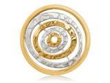 Nikki Lissoni Silver-tone 33mm Egyptian Goddess Coin style: C1280SM
