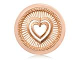 Nikki Lissoni Rose-tone 33mm My Heart Will Protect You Coin style: C1281RGM