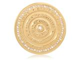 Nikki Lissoni Gold-tone 43mm Nikki`s Inspiration With Swarovski® Elements Coin style: C1291GL